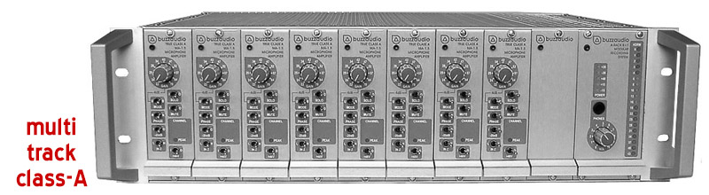 ARACK-8+1 multi channel mic preamps