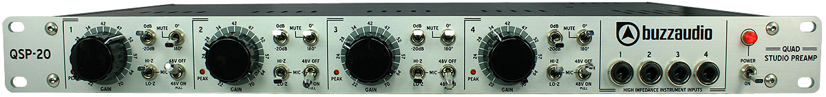 4 channel mic preamp