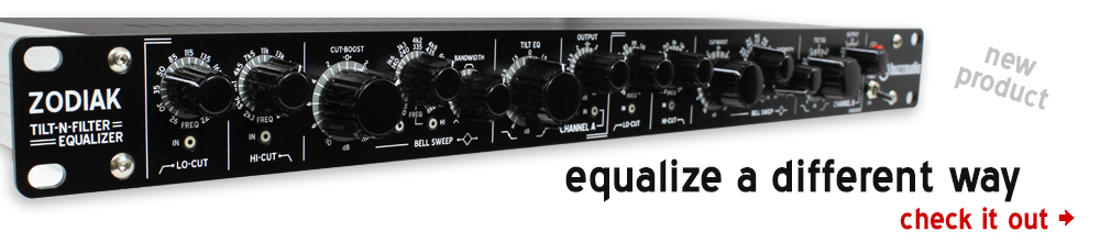 Zodiak equalizer for tracking vocals